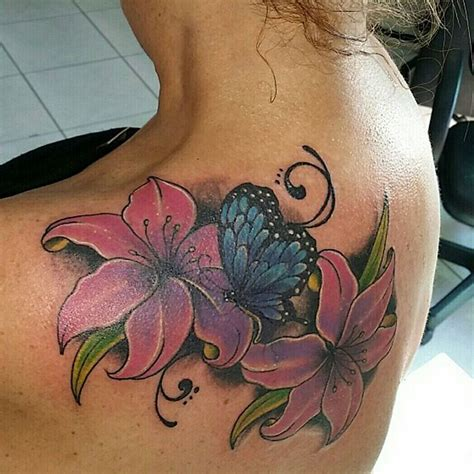 tattoo butterfly with flowers 28 awesome butterfly tattoos with flowers that nobody will