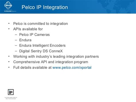 pelco ip pelco ip solutions