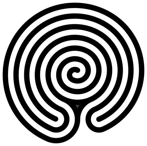 Labyrinth Outline by File Chakravyuha Labyrinth Alternate Svg Wikimedia Commons