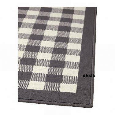 Ikea Square Rug ikea millinge checked rug area throw door mat low pile