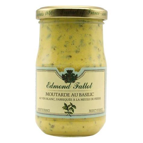 Basilic Baby Food Cooking Tools T1310 4 edmond fallot moutarde de dijon le basilic 210g ebay