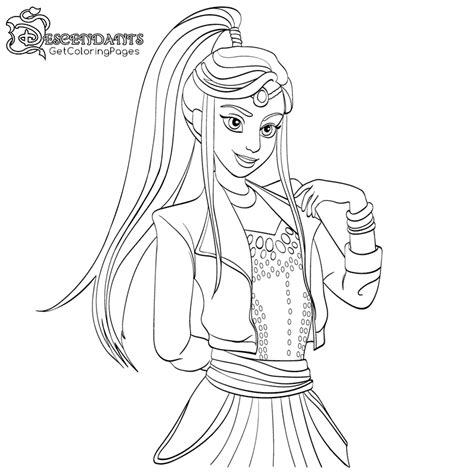 descendants 2 coloring book wickedly cool coloring book for and books descendants world coloring pages getcoloringpages