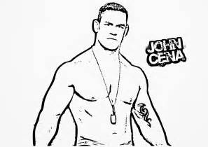 john cena coloring pages printable coloring
