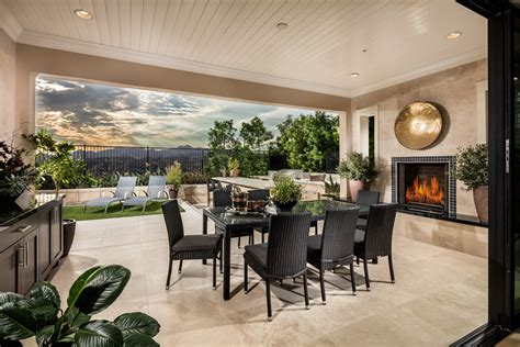 Houses With Open Floor Plans Porter Ranch Ca New Homes For Sale Avila At Porter Ranch