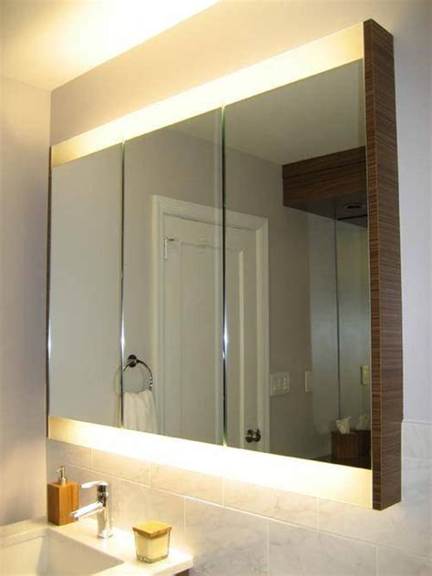 how to install a medicine cabinet recessed medicine cabinet 100 lighted bathroom cabinet