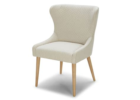 White Fabric Dining Chairs Stella Dining Chair In White Fabric Not Just Brown