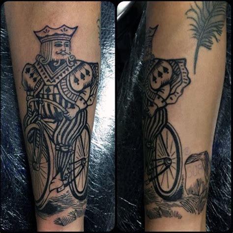 tattoo lucky queen 90 playing card tattoos for men lucky design ideas