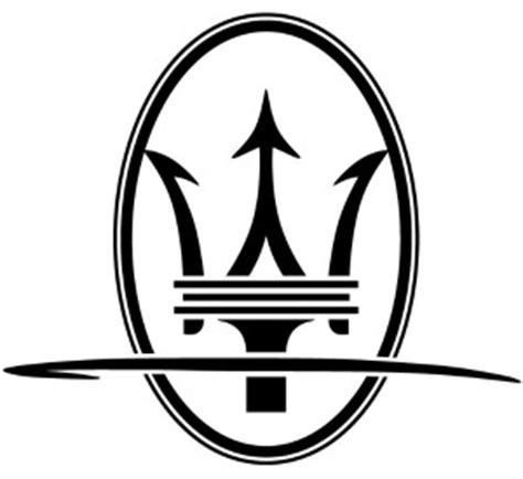 maserati logo drawing italian car brands and logos car brands logos