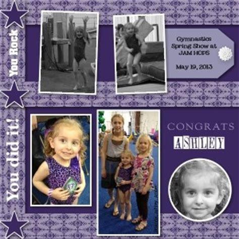 scrapbook layout program 139 best images about scrapbooking gymnastics on