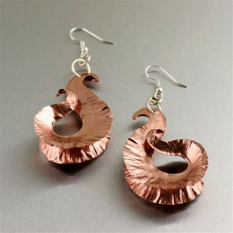 Handmade Copper Jewelry Designs - 99 best images about fold formed jewelry on