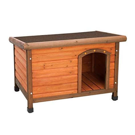 insulated dog house reviews ware manufacturing premium plus fir wood dog house small review