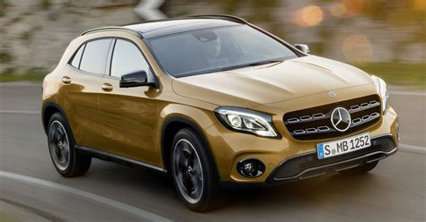 2017 Mercedes Benz GLA facelift debuts in Detroit