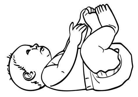 imagenes para colorear bebes dibujos de bebes recien nacidos para colorear imagui