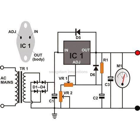 build circuit gt circuits gt build your own 0 to 12 volt adjustable dc