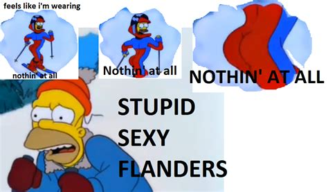 Stupid Sexy Meme - image 359321 stupid sexy flanders know your meme