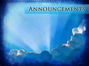 Holy Spirit Is Our Comforter Church Announcements Announcement Backgrounds