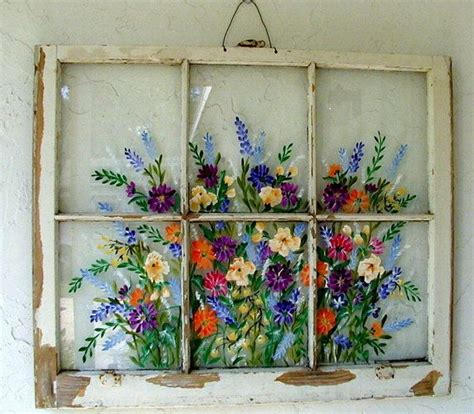 Vintage Transom Windows Inspiration Will Custom Paint For You Painted Windows Sles Wall