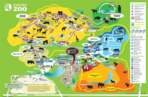zoo map toronto zoo toronto zoo map