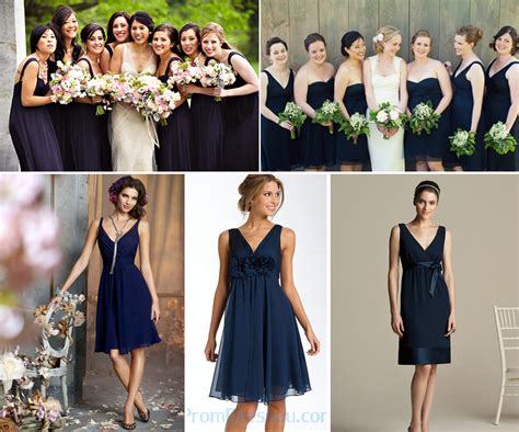 Novel Bridesmaids we all navy blue bridesmaid dresses lianggeyuan123