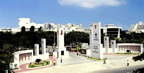 Vit Mba Fees Structure 2017 by Vellore Institute Of Technology Vit