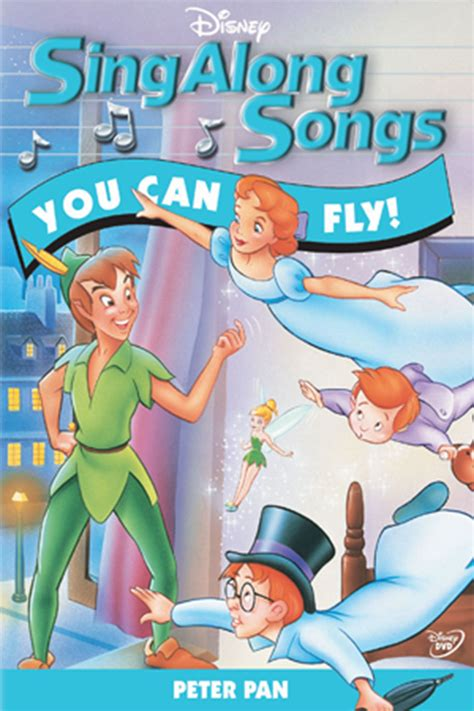you can fly sing along songs pan you can fly disney