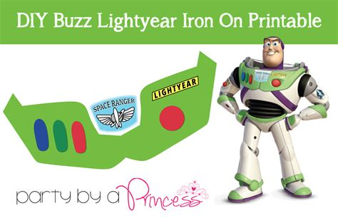 buzz lightyear diy iron on t shirt printable