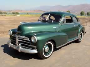 1948 Chevrolet Fleetmaster Coupe 1948 Chevrolet Fleetmaster Sport Coupe