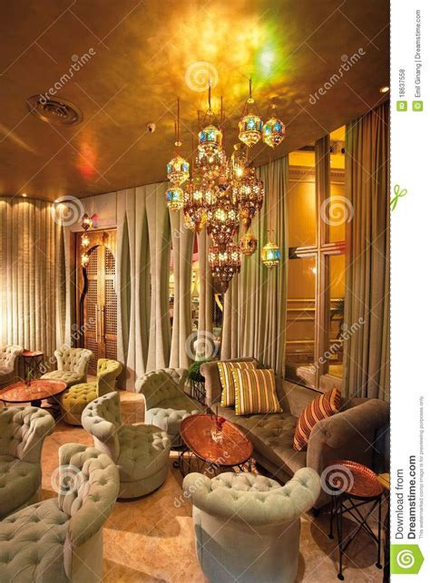 Islamic Home Decorations by Arabic Interior Stock Photo Image Of Cafe Lounge Coffee