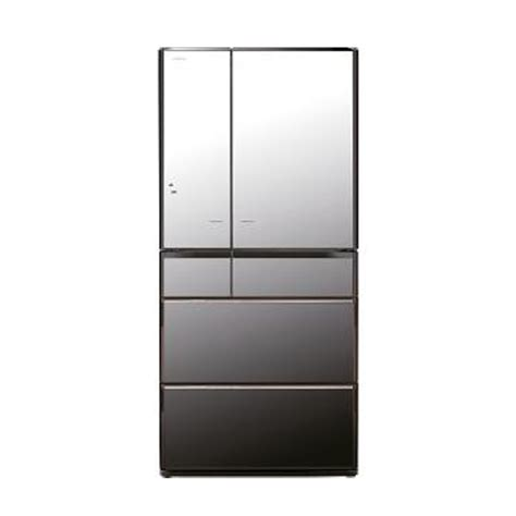 Lemari Es Hitachi jual kulkas hitachi japan series r e6800xt mirror harga