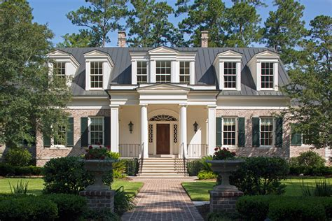 Southern Cottage House Plans Waterfront Home In South Carolina Has Modern Elegance And