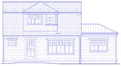 This House Concord Cottage by Floor Plans House Elevations The Concord Cottage