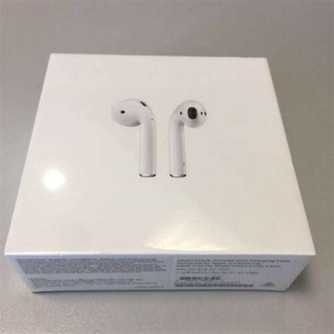sealed apple airpods wireless earbuds st gen mmefam