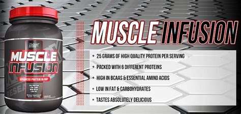 Nutrex Mass Infusion 12 Lb Whey Protein Gainer nutrex research