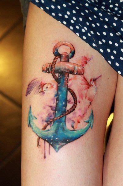 female anchor tattoo designs 20 thigh designs for every pretty designs