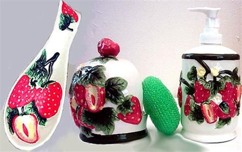 Strawberry Kitchen Stuff by 17 Best Images About Strawberry Kitchen Decor On