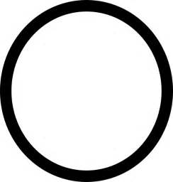 Circle Black Outline by Circle Outline Clipart Clipart Suggest