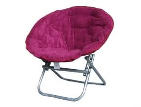 Off a hint of your personality comfy corduroy moon chair raspberry