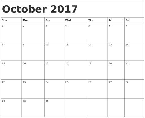 2017 calendar template word calendar template monthly