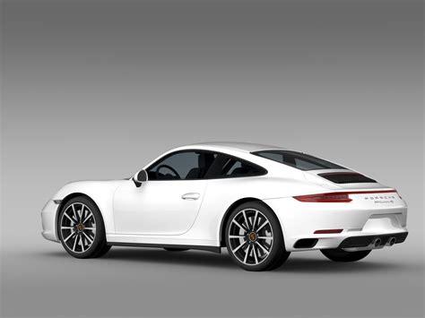 porsche coupe 2016 porsche 911 4s coupe 991 2016 3d model max obj