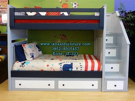 Tempat Tidur Bayi Kayu Murah jual tempat tidur tingkat 2 murah model tempat tidur