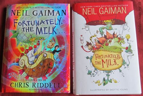fortunately the milk fortunately the milk by neil gaiman riddell and skottie young child led chaos