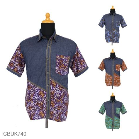 Kemeja Batikhem Mahabethem Batik Pekalongan kemeja batik pekalongan motif abstrak rumput laut kemeja lengan pendek murah batikunik