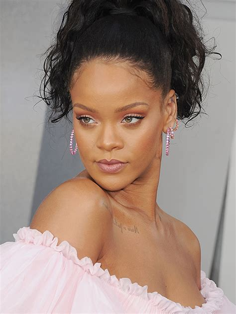 Rihanna Supersized Hoop Earrings by The Best Of Bling This Month Rihanna Jetsets