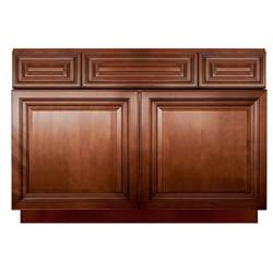 bathroom sink base cabinets lesscare geneva 42 quot bathroom maple vanity sink base