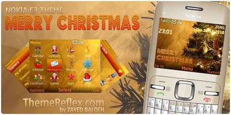 nokia c3 christmas themes merry christmas nokia c3 themes themereflex