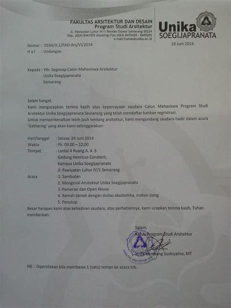 template undangan gathering undangan gathering calon mahasiswa baru 2014 2015 arsitektur