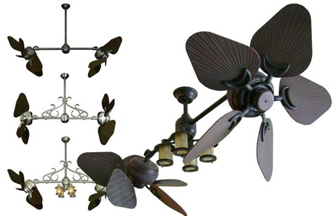 dual outdoor ceiling fan 35 inch tropical ceiling fan with abs