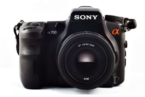 Kamera Sony A700 michael calcada photografie digitalkameras