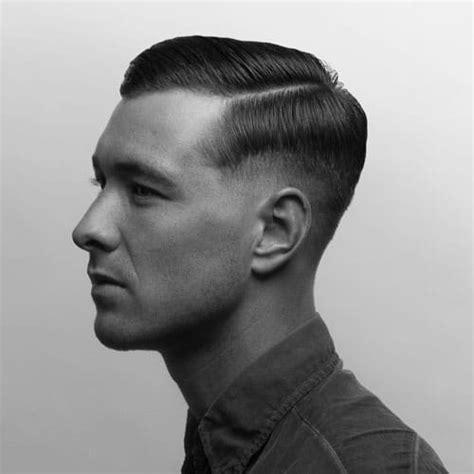 vintage  hairstyles  men