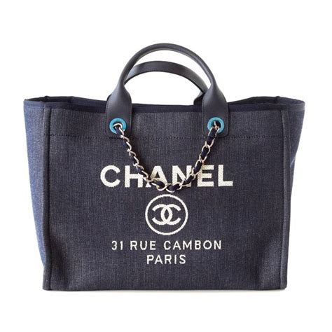 Chanel Deauville Shopping Tote Bags 972 chanel 2015 navy deauville canvas tote bag world s best